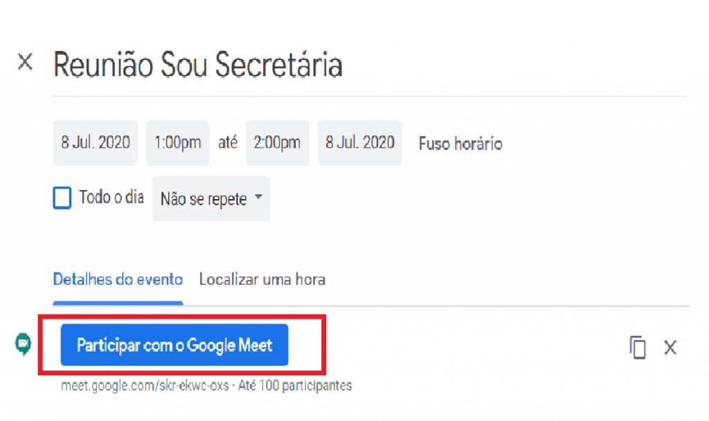 Como agendar uma reunião no Google Meet?