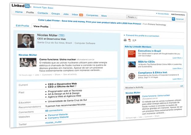 O que é o LinkedIn? Para que serve e como funciona! - Foto: ODN