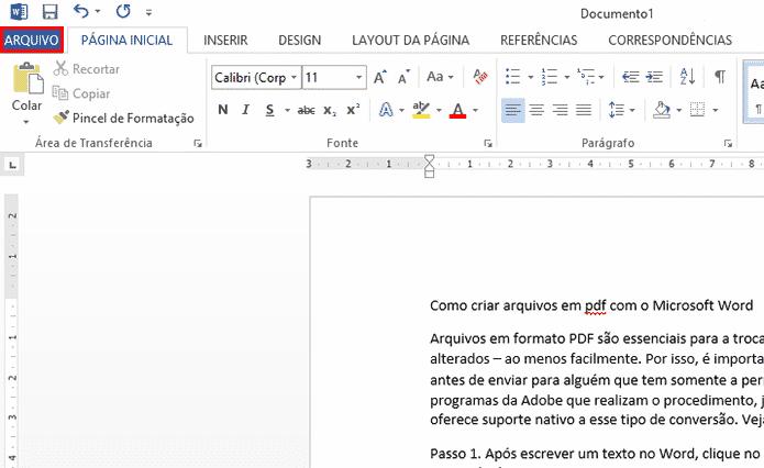 Como salvar em PDF no Word? Veja o tutorial! - Foto: TT